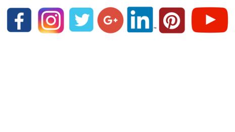Social Media Icons - blog